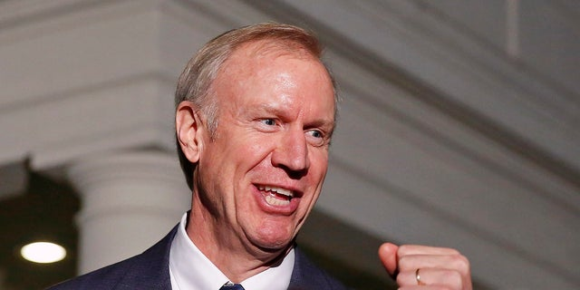 Republican Gov. Bruce Rauner hopes to win re-election to keep leading Illinois.