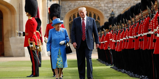 President Trump met Queen Elizabeth II earlier this month at Windsor Castle.