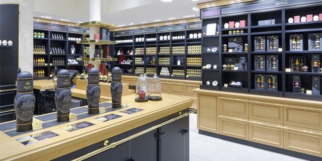 The New York City store sells horseradish, rich country, honey Dijon and honey balsamic.
