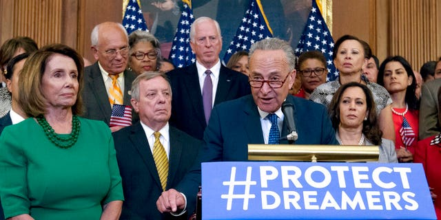 Many Dreamers say Democratic leaders such as Sen. Chuck Schumer of New York have strung them along on immigration.