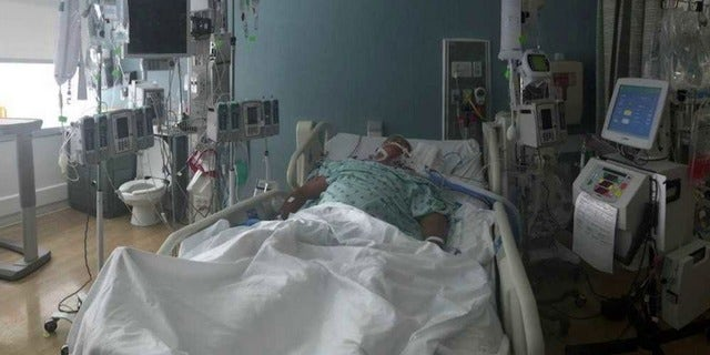His family said he suffers from Parkinson's, which puts him at an increased risk for severe infection.