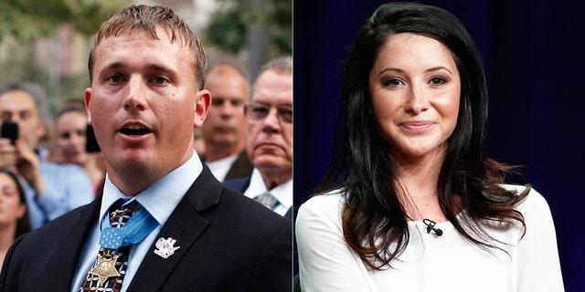Dakota Meyer, left, and Bristol Palin have been married since 2016.