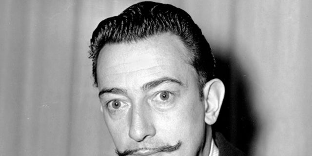 Salvador Dali's mustache was found intact when forensic experts exhumed his body.