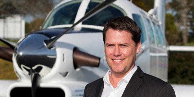 Pacific Aerospace chief executive Damian Camp