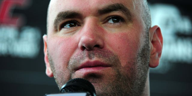 """UFC president Dana White said Brock Lesnar was """"free and clear"""" to fight again."""