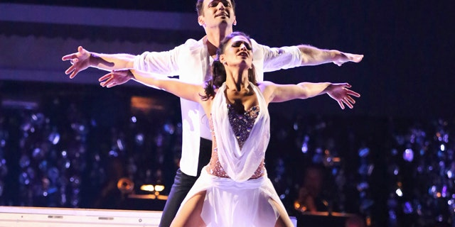 Reality TV star Melissa Rycroft and her professional dance partner, Tony Dovolani, were named the champions on ABC's 'Dancing with the Stars: All-Stars' on Nov. 26, 2012.