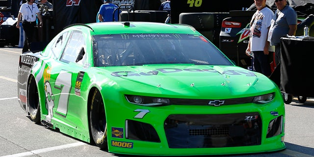 Danica Patrick will drive this GoDaddy-sponsored Chevrolet Camaro ZL1 at the Daytona 500, which is set to be her last NASCAR race.