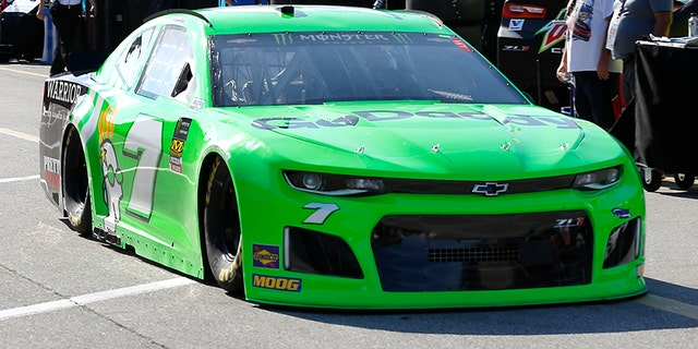 Danica's last NASCAR car had a traditionally lucky number that didn't do much good.