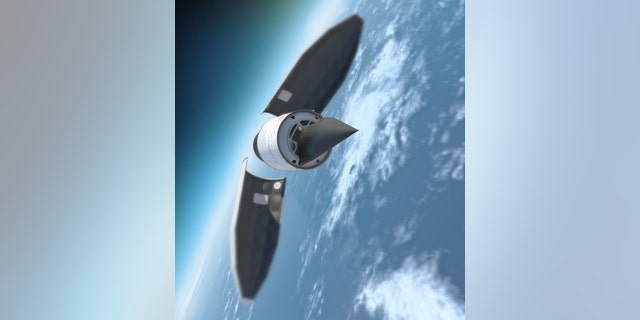 An image of the Falcon HTV-2. (DARPA)