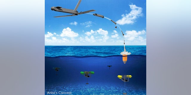 Artist's concept (DARPA).