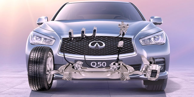 In 2017 Infiniti Became The First Automaker To Introduce A â œsteer By