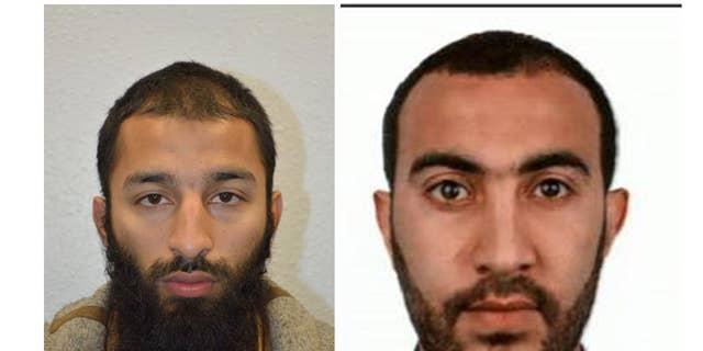 Khuram Shazad Butt, left, and Rachid Redouane.