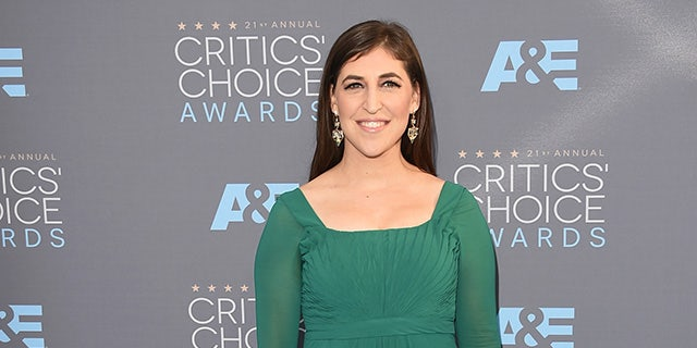 Actress Mayim Bialik will guest host 'Jeopardy!' this year.