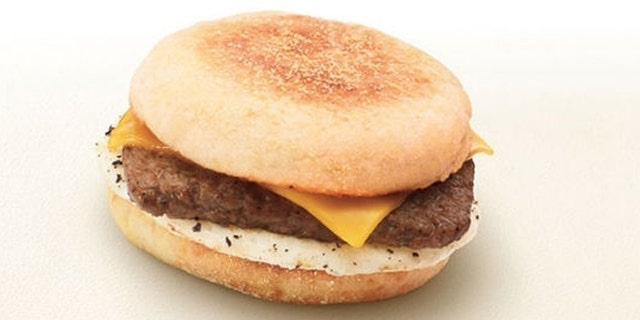 The Turkey Sausage Breakfast Sandwich is 400 calories.