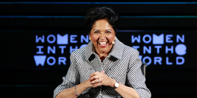 "PepsiCo CEO Indra Nooyo said while men ""lick their fingers with great glee"" after eating Doritos, women ""don't."""