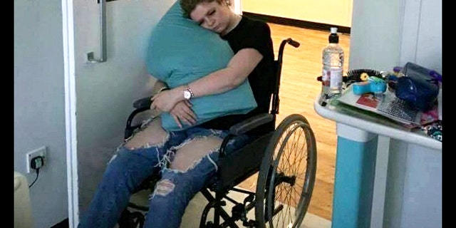 21-year old Emily McDonald, was left devastated after battling what she thought was tonsillitis but was the potentially deadly disorder Guillain-Barre syndrome (GBS).