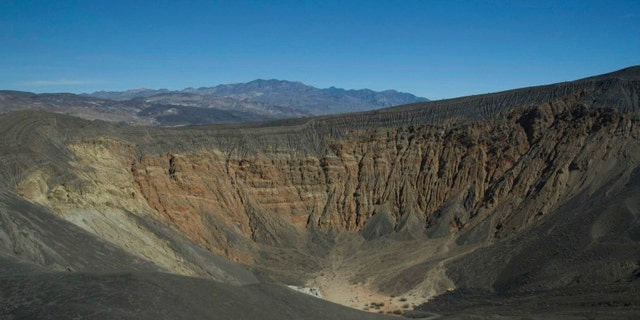 Death Valley's massive Ubehebe Crater. New evidence suggests this sleeping giant could awaken sooner than once thought.