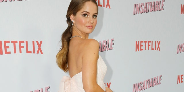 "Debby Ryan attends Netflix's ""Insatiable"" Premiere And After Party on August 9, 2018 in Los Angeles, California."