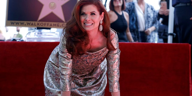 Debra Messing was blasted by the mother of a wounded veteran for praising her son for protesting the national anthem.