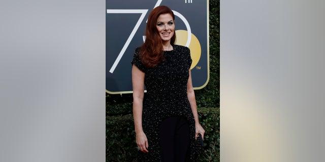 Debra Messing voiced her support for Catt Sadler during the Golden Globes.