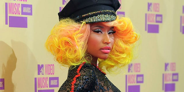 Sept. 6, 2012: Nicki Minaj arrives at the MTV Video Music Awards in Los Angeles.