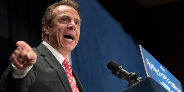 Cuomo is facing tough opposition from Nixon, who criticized the governor for not being progressive enough.