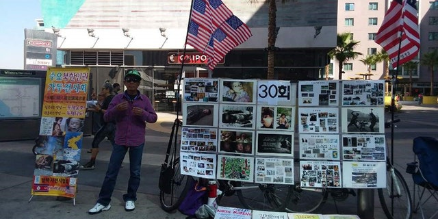 Choi has settled in Los Angeles and spends his time in the city attempting to bring awareness to human rights violations that occur in his native country.