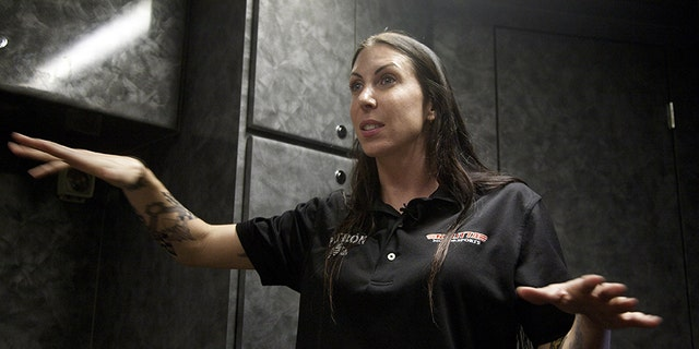 Alexis DeJoria was the first woman to break the 4-second barrier in an NHRA Funny Car.