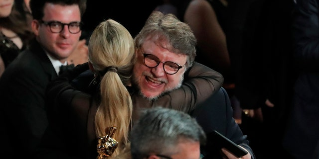 """Guillermo del Torro took home the award for best director and best picture for """"The Shape of Water."""""""
