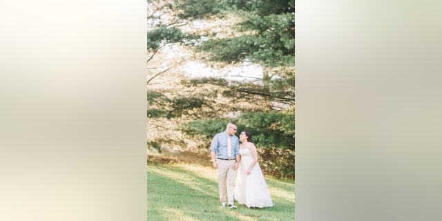 The couple had already married in a courthouse, but planned to hold a ceremony for family and friends on Sunday.