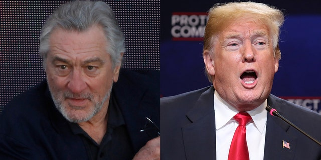 "Actor Robert De Niro called Trump a ""criminal"" in a new interview."