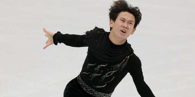 Denis Ten won the bronze medal at the 2014 Olympics in Sochi, Russia.