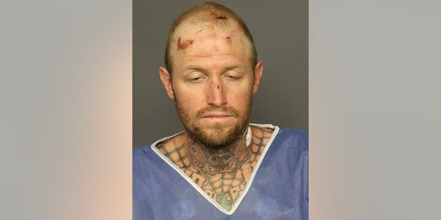 Thomas Busch, 37, was accused of stealing a city-owned tractor, then leading police on a slow-speed chase through the city on Friday, July 20, 2018.