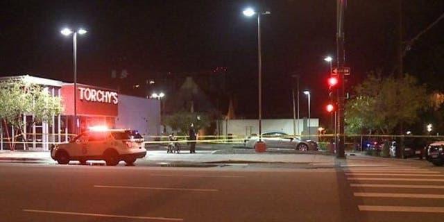 The scene of the May 2017 attack in Denver.