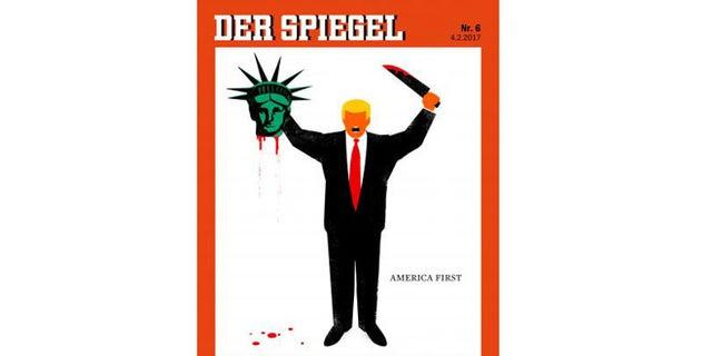 The magazine cover drew immediate controversy.