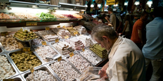Turkish Delight for sale in Istanbul