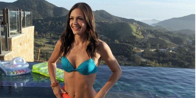 "FILE: Desiree Hartsock poses in a bikini during ""The Bachelorette."""