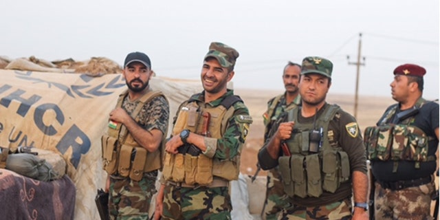 """Members of the group known as the """"Black Devils"""" are the first responders when ISIS strikes at surrounding villages."""