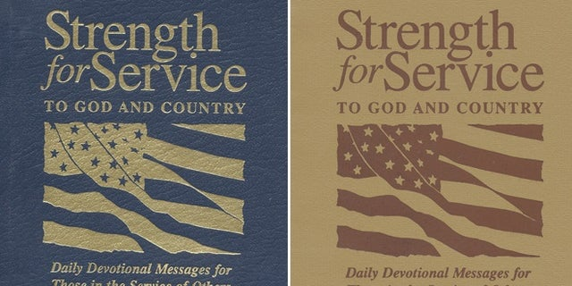 """Various covers for """"Strength for Service."""""""