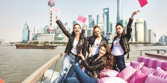 This year's Victoria's Secret Fashion Show is taking place in Shanghai, China.