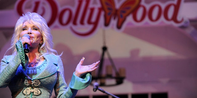 Dolly Parton Theme Park Hollywood renamed the 'Dixie Stampede' retreat to 'Dolly Parton's Stampede' in 2018. (AP Photo / Amy Smotherman Burgess, Knoxville News Sentinel, File)