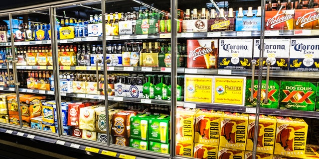LAS VEGAS - MARCH 25:  Grocery stores stock up on cold beer as March Madness and Cinco de Mayo spur hot weather  demand in Las Vegas on March 25, 2013.