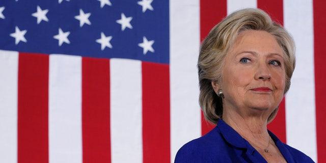 Hillary Clinton on Nov. 2.