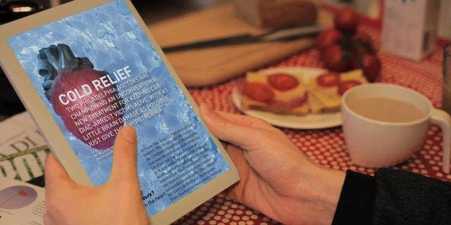 A conceptual video from Bonner R&D, the publisher behind Popular Science magazine, illustrates a potential digital future for print media such as magazines and newspapers.