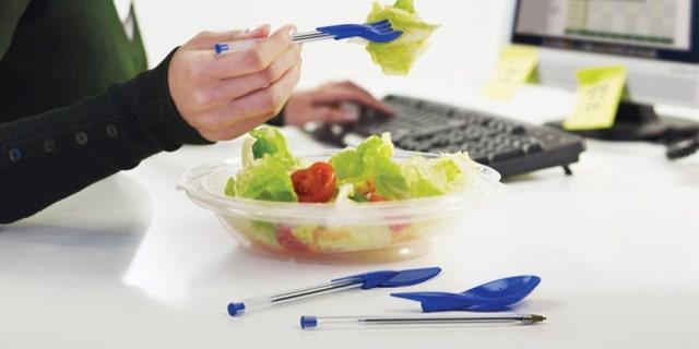 Dine Ink Pen Cap Eating Utensils  fork pen  Amazon.com  Matt