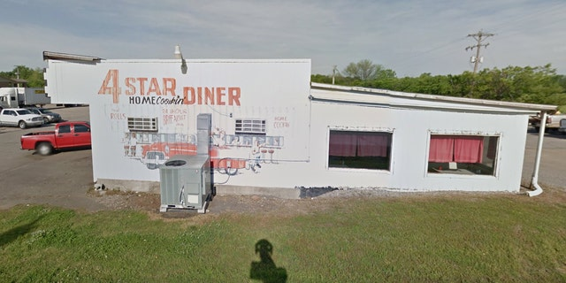 Brenda Pearson was working at the 4 Star Diner in Roland on Sunday when David Platt ordered a cheeseburger to go.