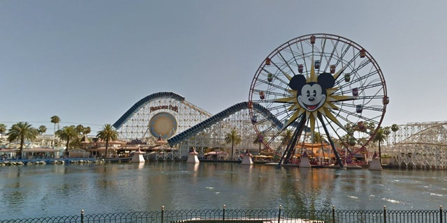 Both Disneyland and Disney World are available on Google Street View.