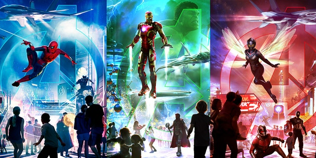 Three Disney parks are getting a Marvel makeover, with new super-hero attractions by 2020.