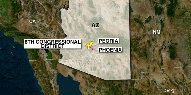 Republicans have held Arizona's 8th congressional district since 2013.