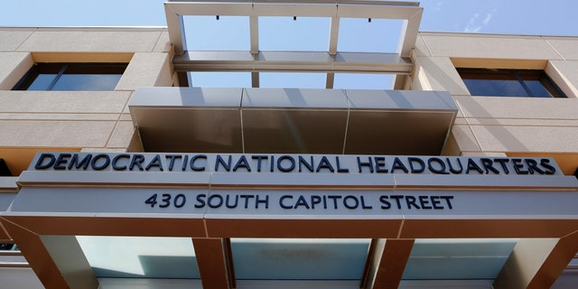 The headquarters of the Democratic National Committee is seen in Washington, U.S. June 14, 2016. (REUTERS/Gary Cameron)